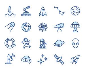 Space Vector Icon Set