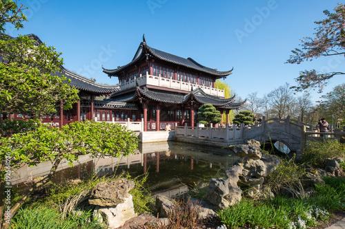 Chinesischer Garten Im Luisenpark In Mannheim Baden Württemberg