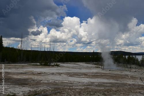 Foto op Plexiglas Stadion Trip to Yellowstone National Park, USA