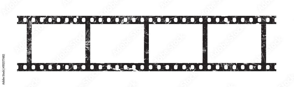 Fototapety, obrazy: Six frames of 35 mm film strip