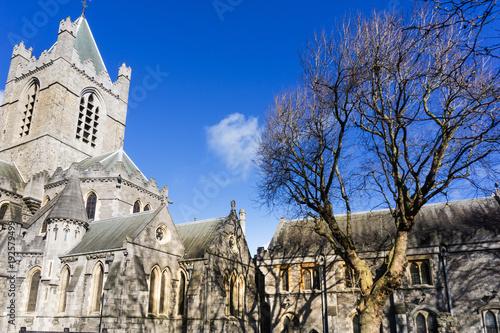 Zdjęcie XXL Christ Church Cathedral, zabytki Dublina Irlandia