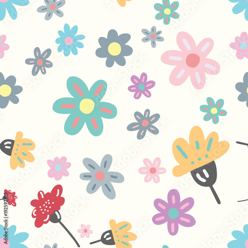 Nowoczesny kwiatowy wzór. Tło wektor. Wzór dla karty, projektowania odzieży, tła strony internetowej, produktów ekologicznych kosmetyków.