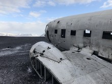 Crash Avion Dc-3 Islande