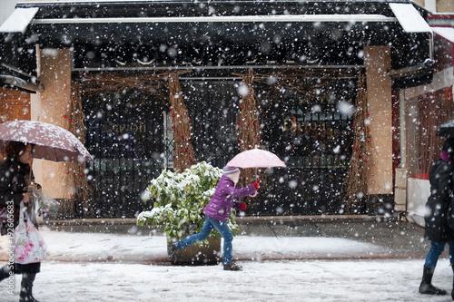 Fotografia Paris sous la neige.