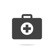 First Aid Kit Icon Vector Isol...
