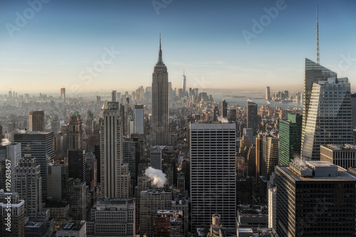 Fotomural  New york skyline seen from above.