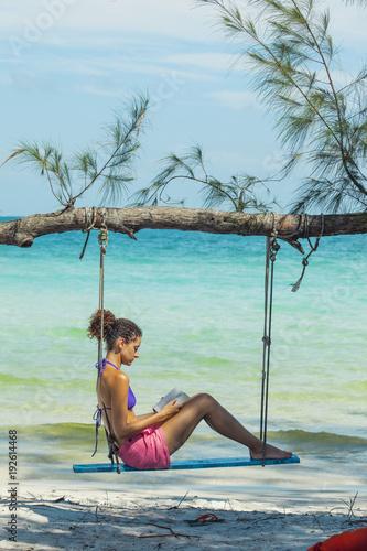 Papiers peints Piscine Island in Cambodia