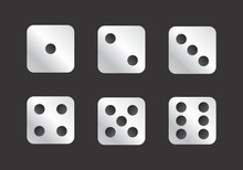 Dice Faces Illustration