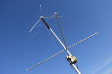 Antenne, Stativ, Turnstile, Wettersatellit, NOAA, Meteor, Empfang, Senden, Funk, Feld, Natur, Umwelt, Aussicht, Empfangen, Elemente, Wetterbilder