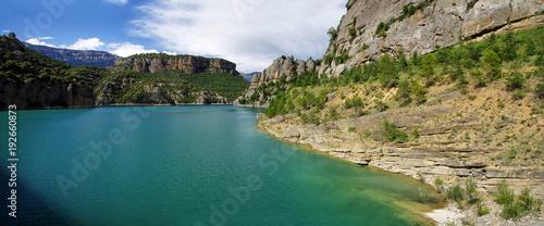 Llosa del Cavall Reservoir, Lleida province, Catalonia, Spain.