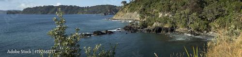 Photo Leigh coast New Zealand panorama