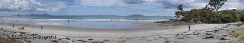 Aluminium Prints Cathedral Cove Mangawhai Heads Beach