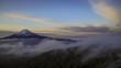 三つ峠から雲海に浮かぶ富士山Timelapse-DF