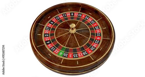 Fototapety, obrazy: Casino roulette wheel 3D