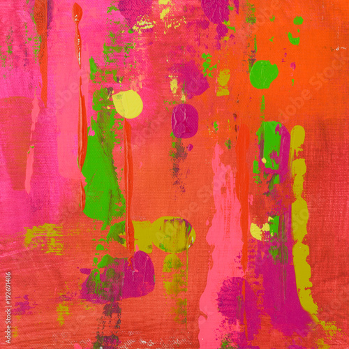 Fotografie, Obraz  Abstract Painting