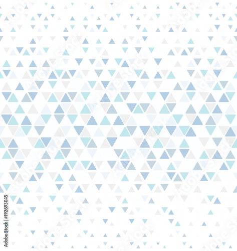 Abstract geometric pattern with lines. A seamless vector background. White and color ornament. Graphic modern pattern