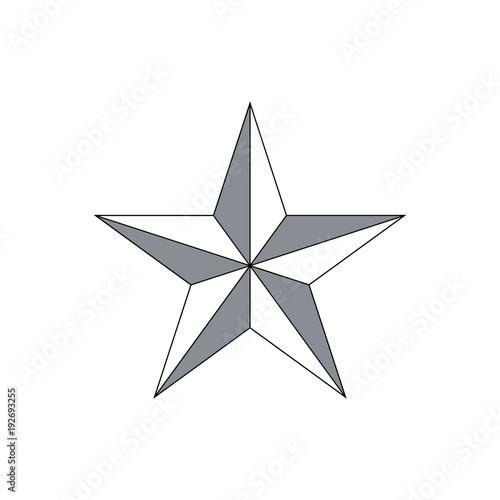 Obraz Vector Star icon - fototapety do salonu