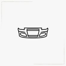 Bumper Line Icon