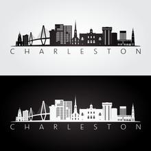 Charleston Usa Skyline And Lan...