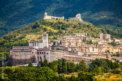 Assisi - Province of Perugia, Umbria Region, Italy Wallpaper Mural