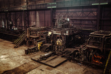 Interior Of An Old Abandoned S...