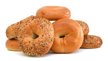 Everything Bagels Isolated On ...