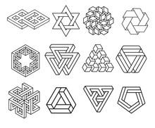 Sacred Geometry Symbols Collec...