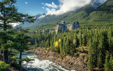 Autumn At The Fairmont Banff  ...