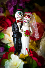 Day Of Dead Cake Topper