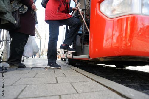 Fototapeta omnibus - bus