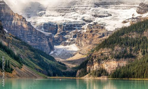 Plakat Jesień w Lake Louise - Park Narodowy Banff