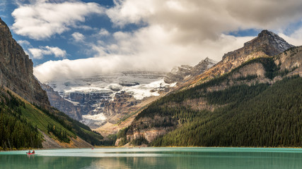 Autumn at Lake Louise - Banff National Park