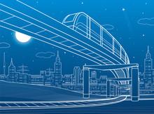 Monorail Railway. Transportati...