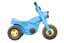 Blue Plastic Motorcycle Toy Fo...