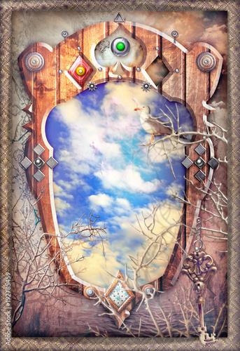 Poster Imagination Finestra incantata sui sogni