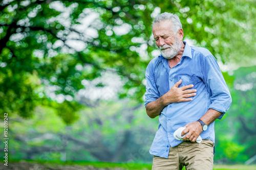 Carta da parati Heart attack concept