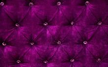 Purple Diamond Pattern Velvet Upholstery Background