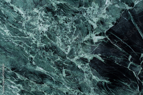 Door stickers Marble Green marble texture background.