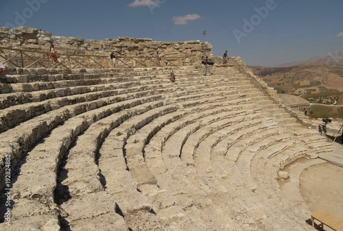Fototapeta anfiteatro di segesta