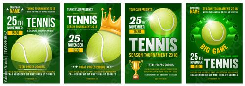 Fotografía  Tennis Poster Set