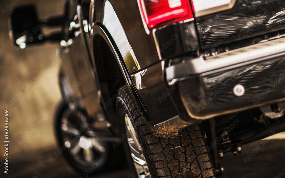 Fototapety, obrazy: Modern Pickup Truck