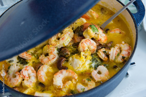 Fotografie, Obraz  Shrimp Stew