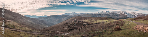 Fotografija  Panoramic view of Asco mountains and Monte Padru in Corsica