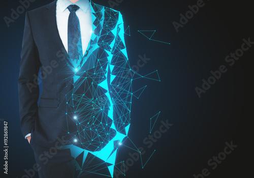 Obraz na płótnie Robotics and future concept