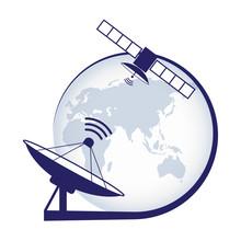 Artificial Satellite. Telecomm...