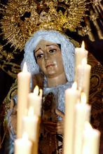 Detalle Imagen Virgen De La So...