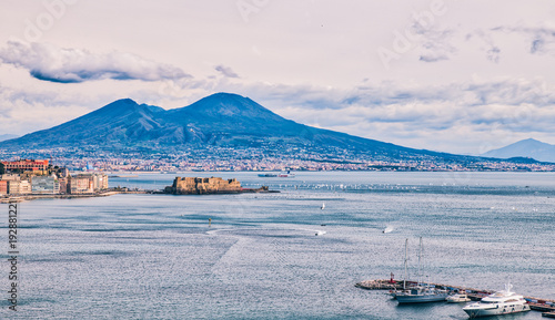 Spoed Foto op Canvas Napels Winter Regatta in Naples, February 2018