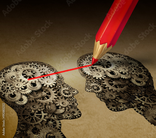 Fotografia, Obraz Brain Telepathy