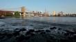 Waves At Brooklyn Bridge NYC