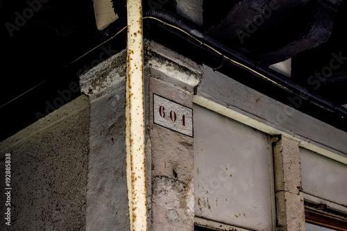 Fotografia  Straßenummer 601